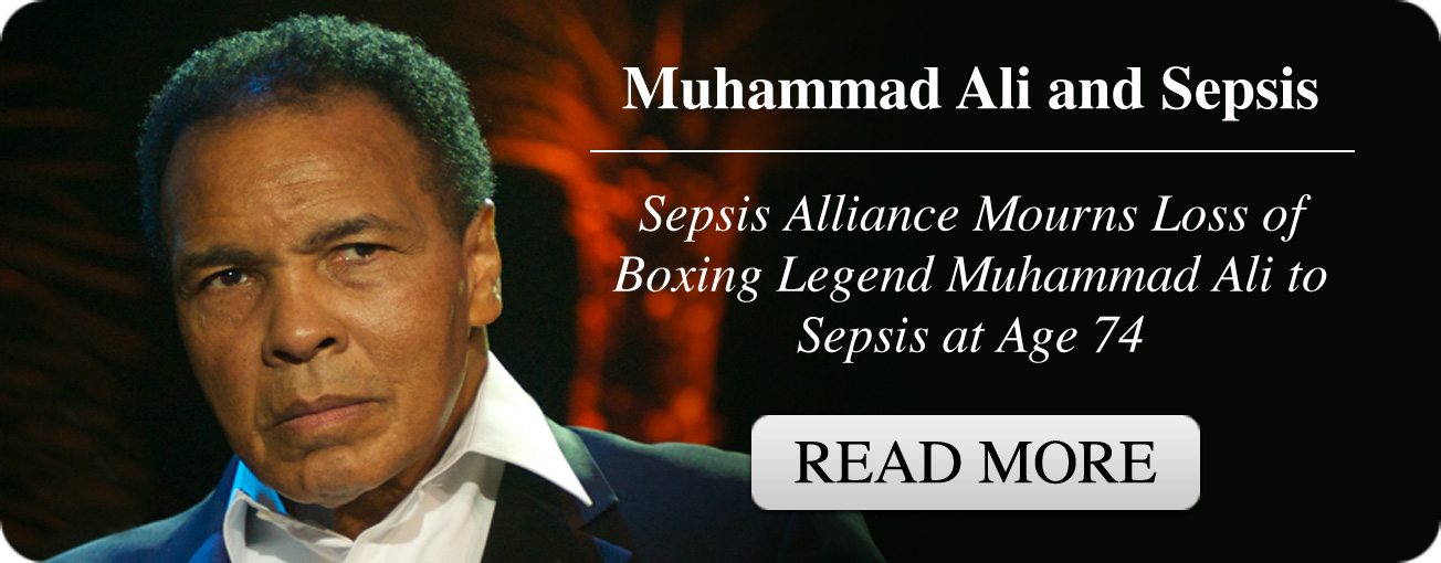 Sepsis Alliance Mourns Loss of Boxing Legend Muhammad Ali to Sepsis at Age 74